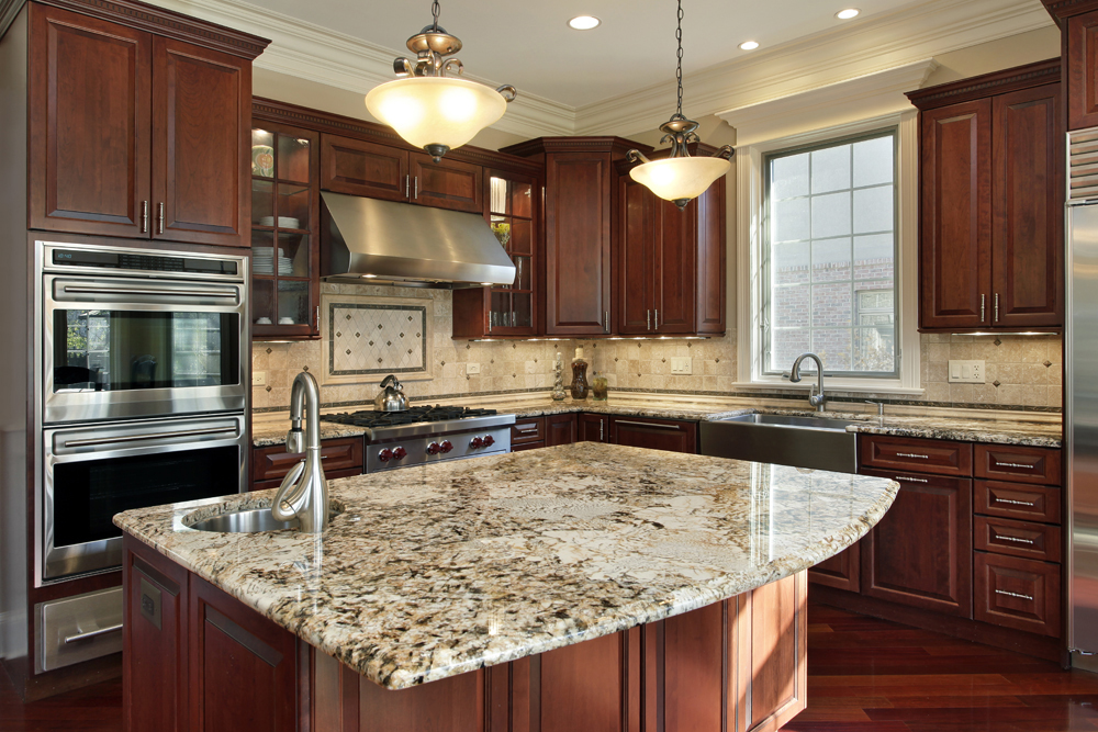 Beverly MA Granite Kitchen   Boston