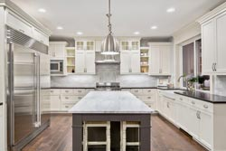 Boston MA marble kitchen - Waltham Waltham